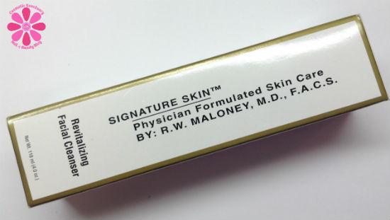 Signature Skin Revitalizing Facial Cleanser Review
