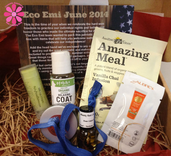 Eco Emi June 2014 Box Review & Giveaway
