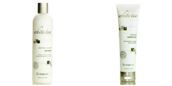 Scruples White Tea Shampoo & Conditioner Review & Giveaway