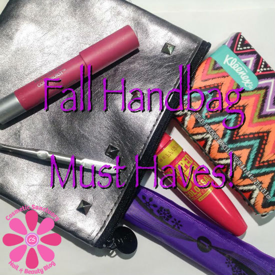 Top 5 Fall Handbag Must Haves with U by Kotex & Walmart