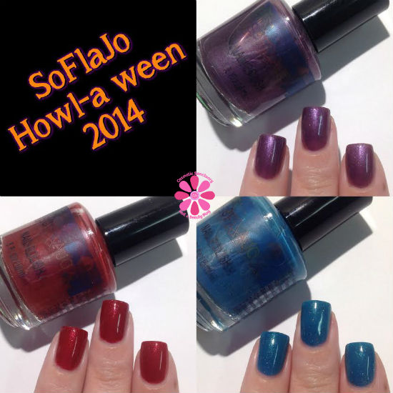 SoFlaJo Happy Howl-A-Ween 2014 Collection Swatches & Review