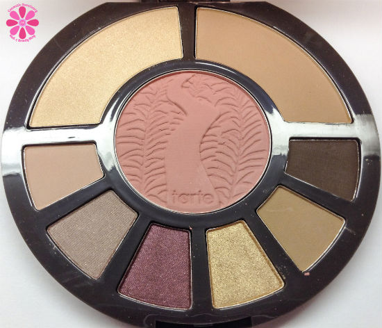 Tarte Rainforest After Dark Eye & Cheek Palette Swatches & Review