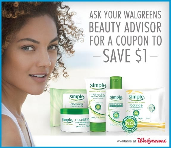 Join Simple® Skin Care at Walgreens on September 20th (plus a $50 Gift Card Giveaway!)