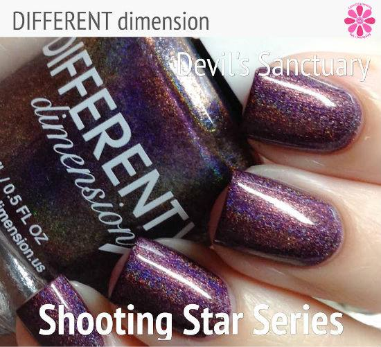 DIFFERENT dimension Shooting Star Series Devil's Sanctuary Swatch & Review