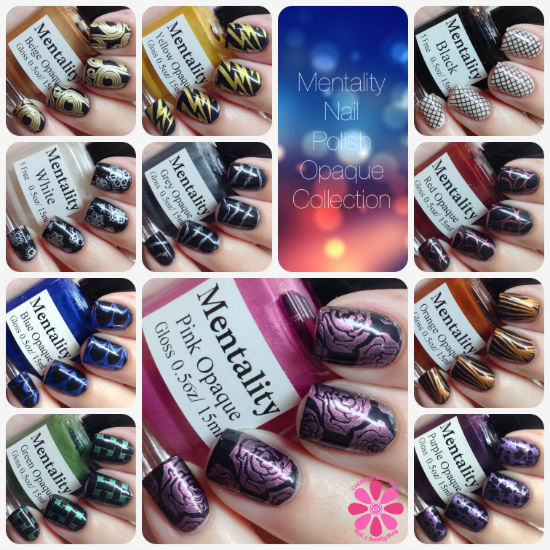 Mentality Nail Polish Opaque Collection Swatches & Review