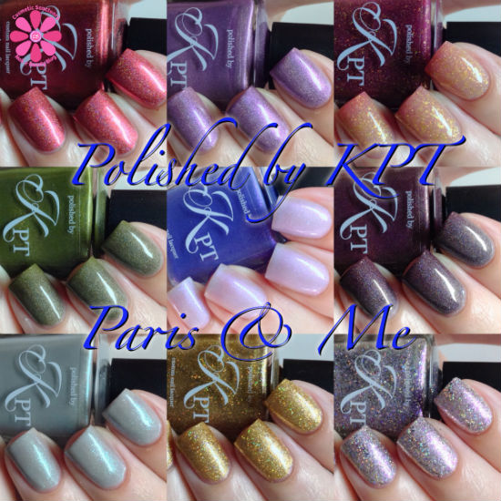 Polished by KPT Fall 2014 Collection Paris & Me Swatches and Review