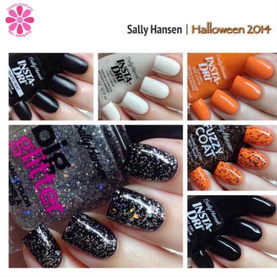 Sally Hansen Halloween 2014 Costume-ize Your Nails Collection Swatches & Review