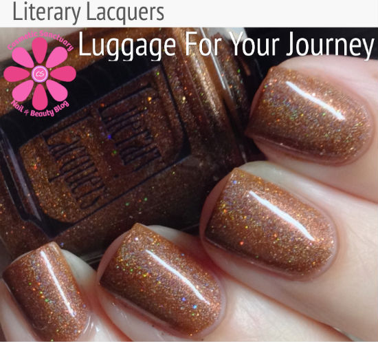 Literary Lacquers Luggage For Your Journey Swatches & Review