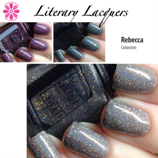 Literary Lacquers Rebecca Collection Swatches & Review