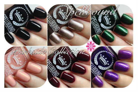 Spellbound Nail Lacquer by Liberty Republic Darkside Collection Swatches & Review