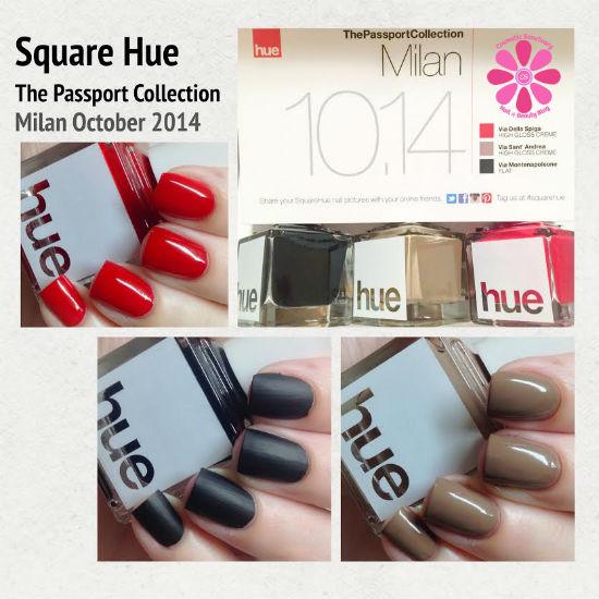 SQUARE HUE OCTOBER 2014 NAIL POLISH SUBSCRIPTION BOX REVIEW