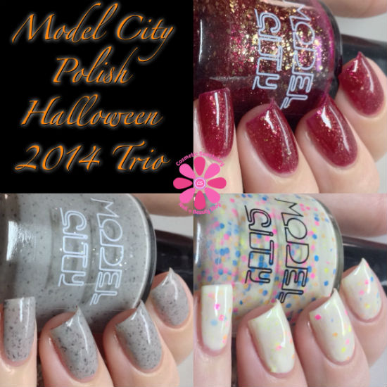 Model City Polish Halloween 2014 Collection Swatches & Review
