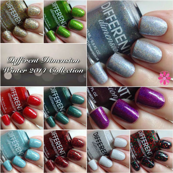DIFFERENT Dimension Winter 2014 Collection Swatches & Review
