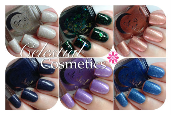 Celestial Cosmetics New Shades Releasing at Color4Nails