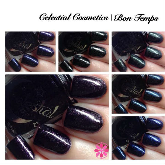 Celestial Cosmetics & Color4Nails Bon Temps Collection Swatches & Review
