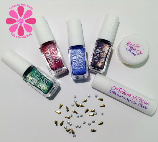 Glam Polish Limited Edition Holo Gift Box #1 Swatches & Review