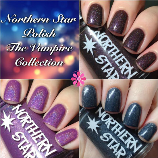 Northern Star Polish The Vampire Collection Swatches & Review