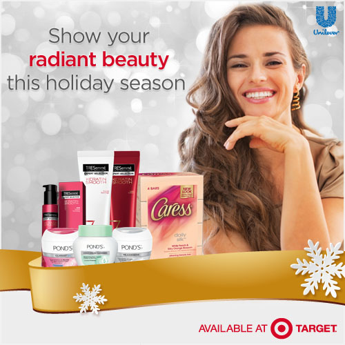 Show Your Radiant Beauty This Holiday Season with Target PLUS Tweet To Win a $25 Target Gift Card