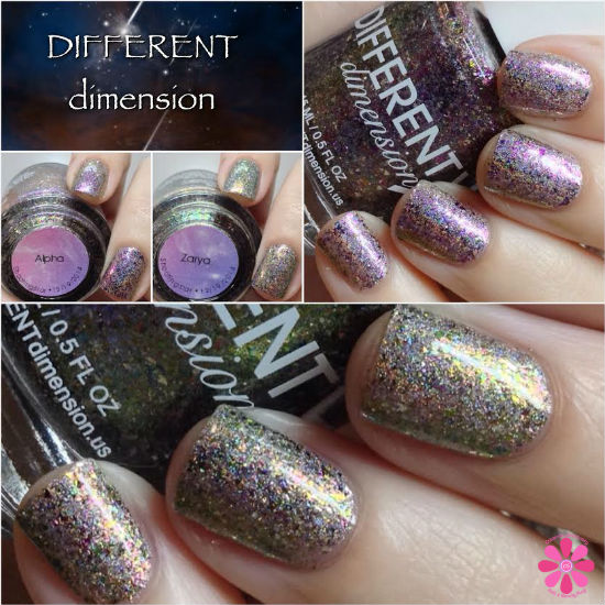 DIFFERENT dimension Shooting Star Series Alpha & Zarya Swatches & Review