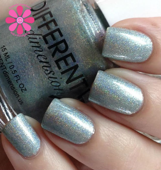 Different Dimension Out With The Old, In With The Blue For January A Box, Indied Swatch & Review