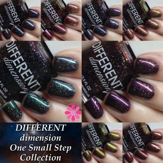 DIFFERENT dimension One Small Step Collection Swatches, Review & Giveaway