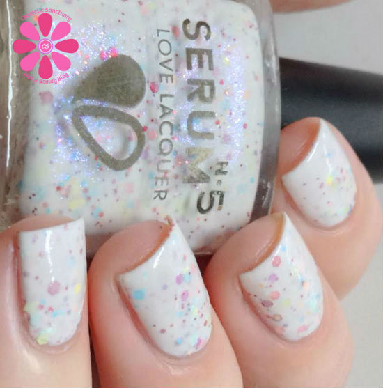 Serum No 5 Sweet Nothings For February A Box Indied Swatch & Review