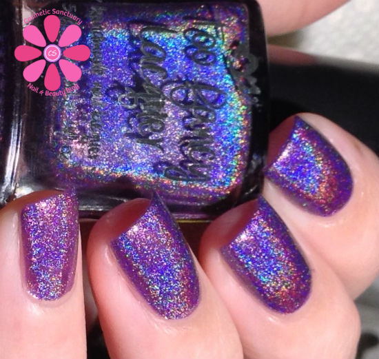 Too Fancy Lacquer Color4Nails Exclusive Shade Violette Etoilee Swatches & Review
