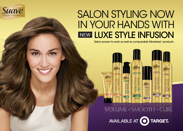 Bring Salon Style Home With New Suave Luxe at Target