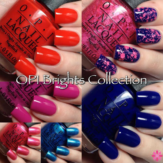 OPI Summer 2015 Brights Collection Swatches & Review