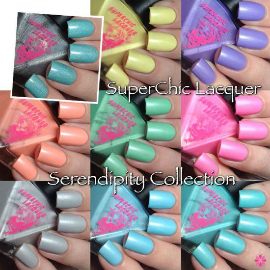 SuperChic Lacquer Serendipity Collection Swatches, Review & Giveaway