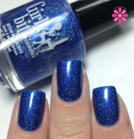 Girly Bits Winter Sanctuary 3 Year Blogiversary Shade Swatches & Review