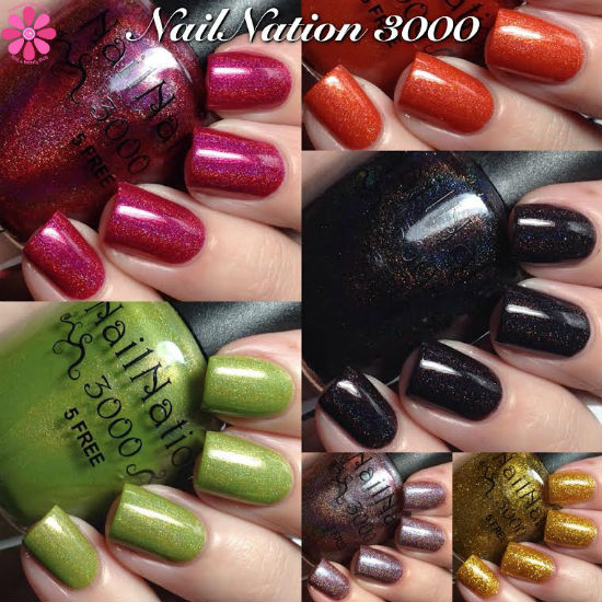 NailNation 3000 Swatches & Review