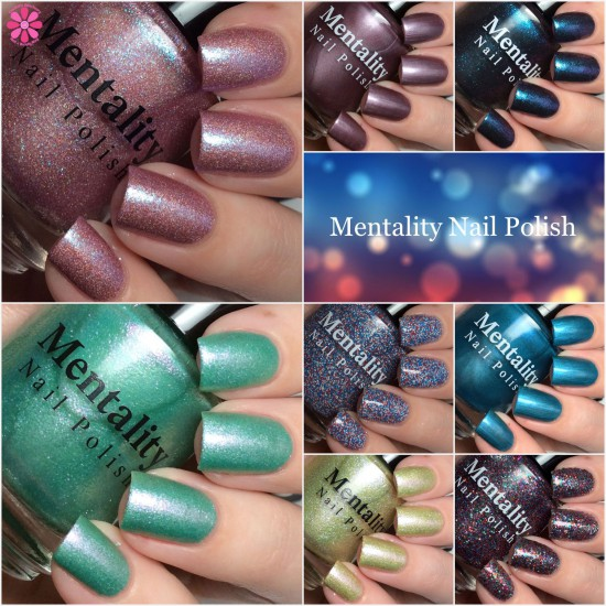 Mentality Nail Polish Swatches & Review