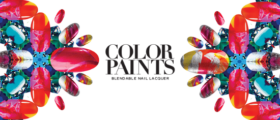 Press Release | NEW COLOR PAINTS BLENDABLE NAIL LACQUER BY OPI