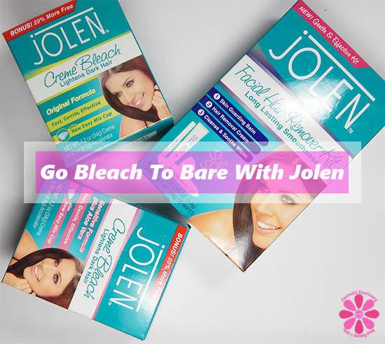 Get Summer Ready & Go Bleach To Bare with Jolen