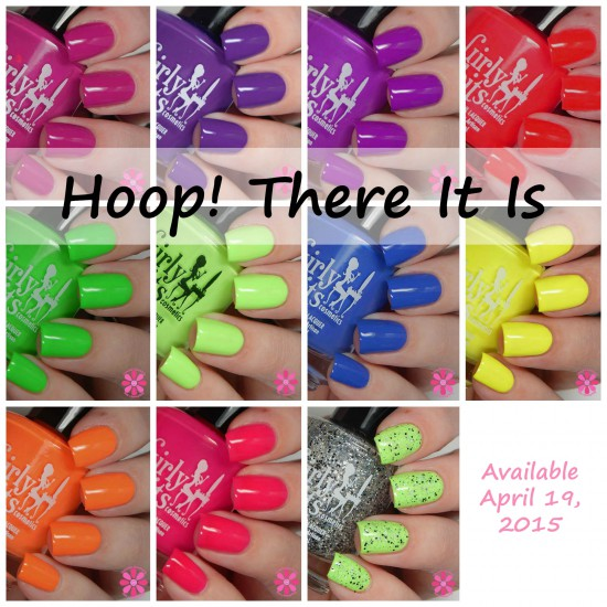 Girly Bits Hoop! There It Is Collection Swatches & Review