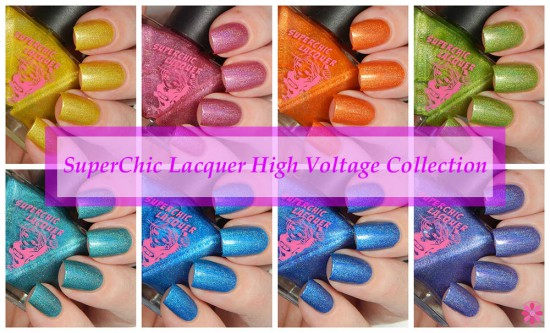 SuperChic Lacquer High Voltage Collection Swatches & Review
