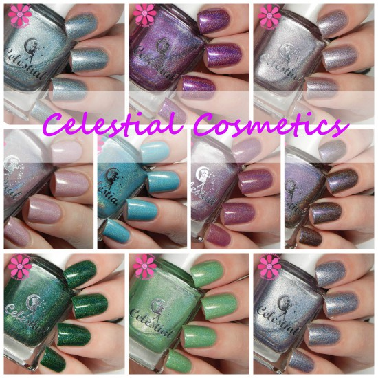 Celestial Cosmetics Nail Lacquer from Color4Nails Swatches & Review
