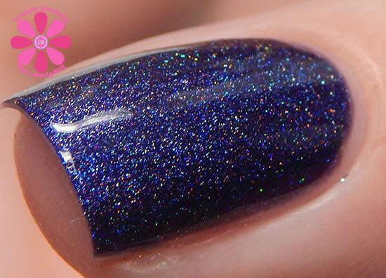 Purple Calla macro