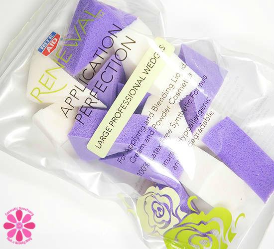 Rite Aid Renewal Large Professional Wedges & Nail Art!