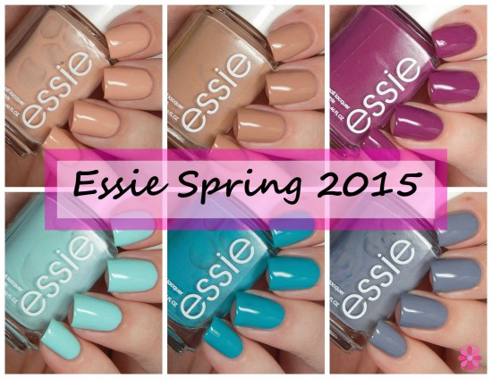 Essie Spring 2015 Collection Swatches & Review