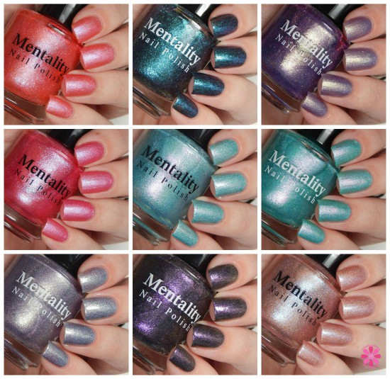 Various Mentality Nail Polish Swatches & Review