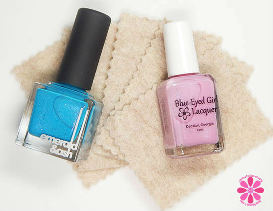 Emerald & Ash and Blue-Eyed Girl Lacquer Destination Polish Duo