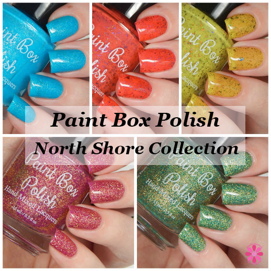 Paint Box Polish North Shore Collection Swatches & Review