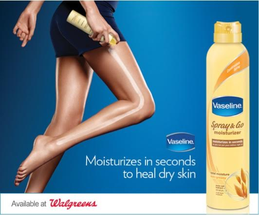 Prepare Your Skin For Any Weather With Vaseline Spray Moisturizer & Gift Card Giveaway