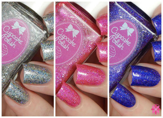 Cupcake Polish Partial Las Vegas Showgirls Collection Swatches & Review